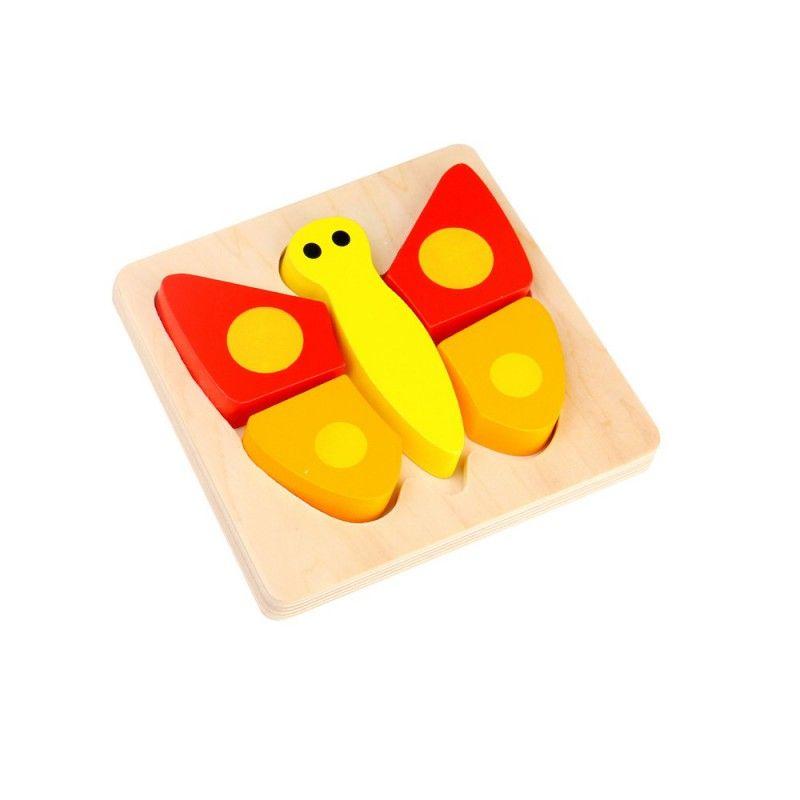 Bestel Mini Puzzel Vlinder Puzzels Houten Speelgoed